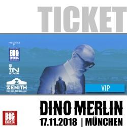 DINO MERLIN Live Koncert 2018 u München - VIP Ticket/Karta