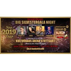 BIG SILVESTERGALA NIGHT  - SITZPLATZ Ticket/Karte