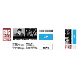 VIP TICKET - Halid Bešlić &...