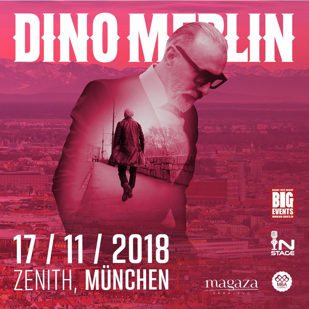 Dino Merlin Konzert München Zenith Halle
