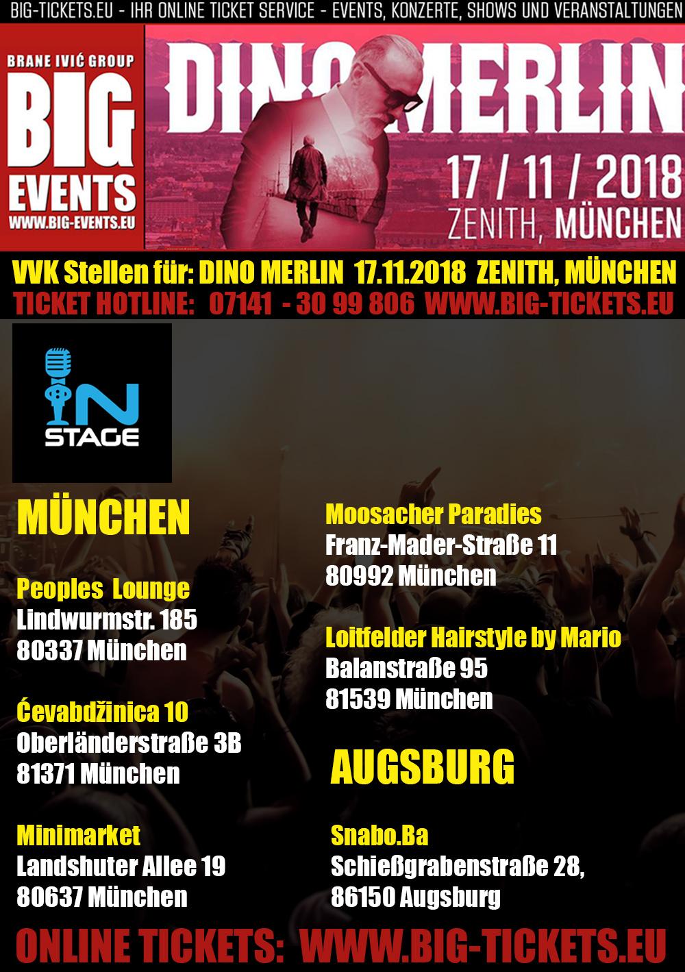VVK Stellen DINO MERLIN München